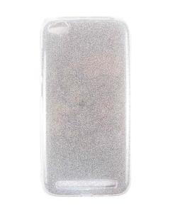Capa Gel Brilhantes Xiaomi Redmi 5A Prateada