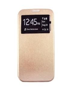 Capa Huawei Honor 10 Lite Flip Alta Qualidade Dourado c/ Apoio e Janela