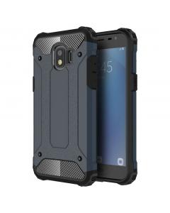 Capa Samsung Galaxy J2 Pro 2018 Hard Case Military Azul