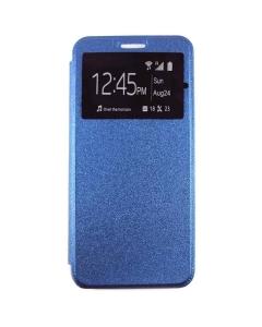 Capa Huawei P30 Pro Flip Alta Qualidade Azul c/ Apoio e Janela