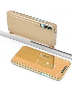 Capa Samsung Galaxy A70 Flip S-View Dourado