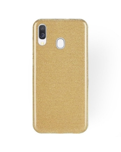 Capa Samsung Galaxy A20e Brilhantes Alta Qualidade Dourada