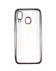 Capa Samsung Galaxy A20e Gel Ultra Slim Transparente / Preto