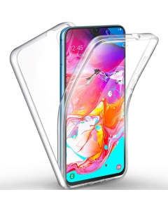 Capa Samsung Galaxy A70 Duplo Gel 360º Transparente