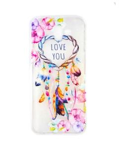 Capa Samsung Galaxy J6 Plus 2018 Gel Style Love Caça Sonhos