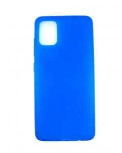 Capa Samsung Galaxy A51 Gel Azul