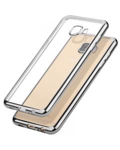Capa Ultra Slim Gel Samsung A5 2017 Transparente / Prateado