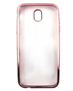 Capa Ultra Slim Gel Samsung J5 2017 J520 Transparente / Rosa