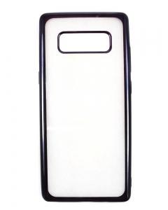 Capa Ultra Slim Gel Samsung Note 8 Transparente / Preto