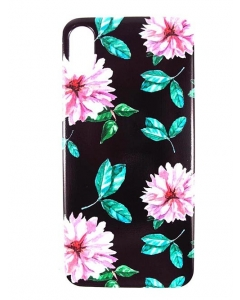 Capa Gel Style Iphone X Flores