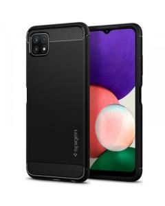 Capa Samsung Galaxy A22 5G SPIGEN Rugged Preto