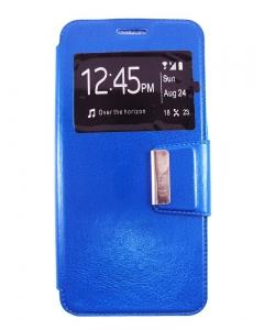 Capa Flip Alcatel A5 LED Azul c/ Apoio e Janela