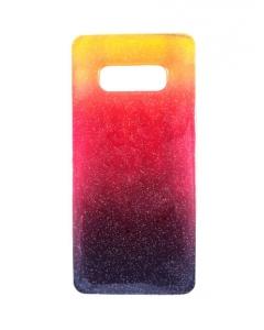 Capa Gel Samsung Galaxy S10e Degradê Amarelo Vermelho