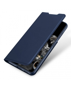 Capa Samsung Galaxy S21 Plus Flip DX Azul c/ Apoio