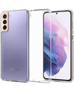 Capa Samsung Galaxy S21 Spigen Liquid Crystal Transparente