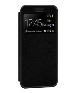 Capa Samsung Galaxy M21 Flip Alta Qualidade Preto c/ Apoio e Janela