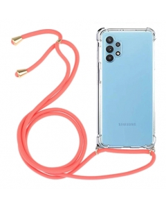 Capa Samsung Galaxy A52 5G Proof Air com Cordão Vermelho
