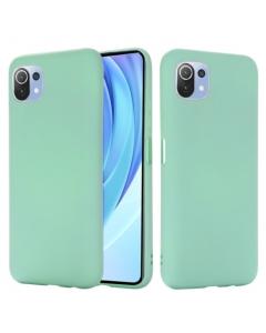 Capa Xiaomi Mi 11 Lite Silky Verde Agua