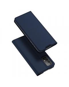 Capa Samsung Galaxy A52 5G Flip DX Azul c/ Apoio