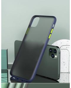 Capa Iphone 12 Pro Hibrida Shadow Azul