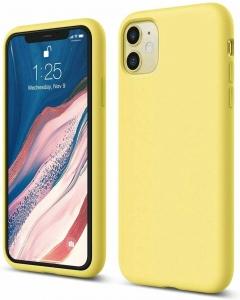 Capa Iphone 12 Silky Amarelo